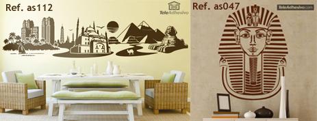 Vinilos decorativos y fotomurales egipto blog teleadhesivo for Fotomurales y vinilos