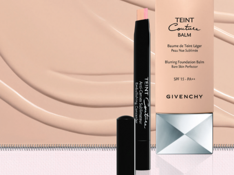 Stephanie lim givenchy teint couture balm exclusive for Givenchy teint miroir lift comfort