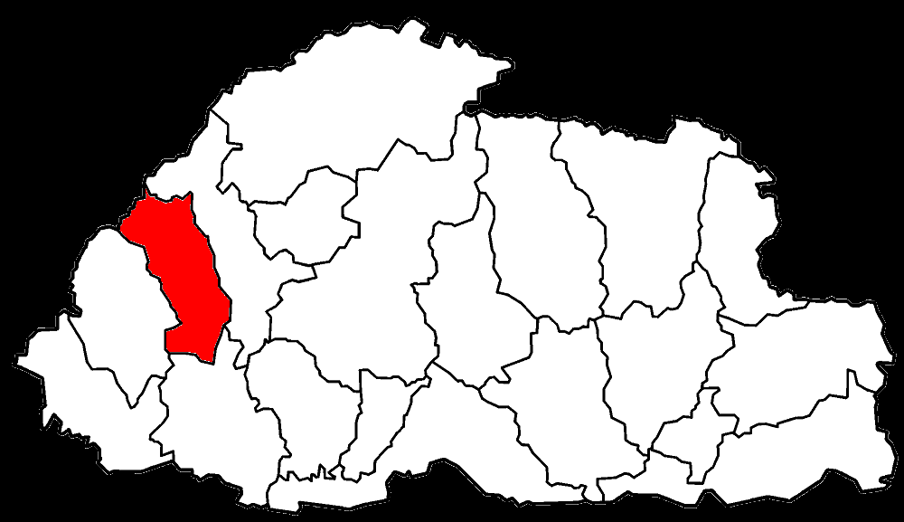 http://en.wikipedia.org/wiki/Districts_of_Bhutan