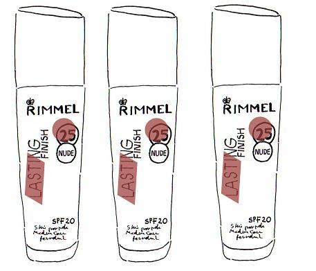 rimmel lasting finsh nude foundation review