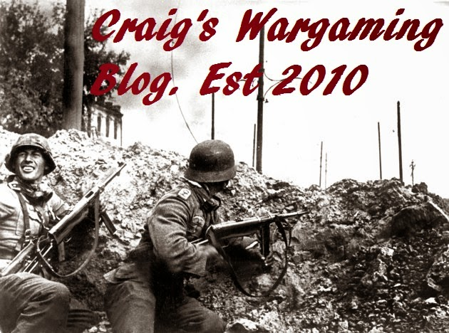 Craig's Wargaming Blog