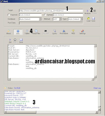 Cara Deface Website Dengan Havij 1.15