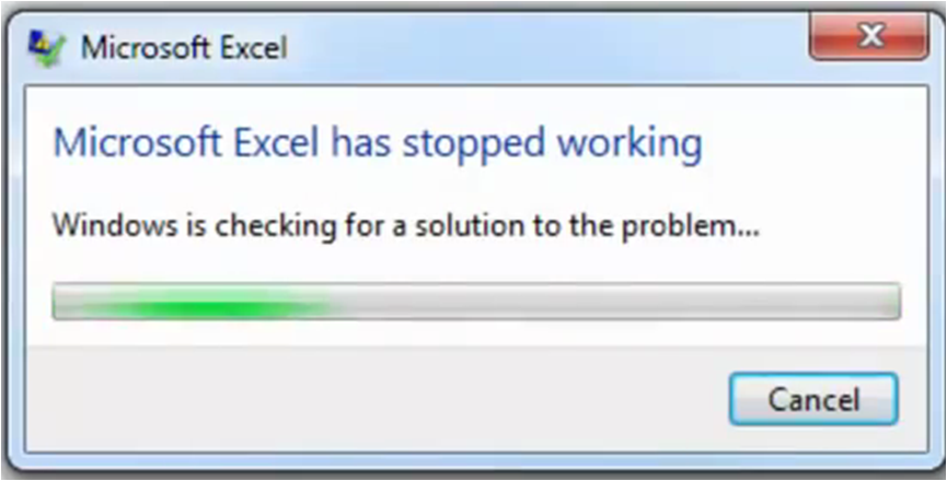 Microsoft Excel .... having problems. Am in a fix now?