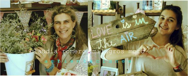 claudia romero&milagros moro ambientaciones
