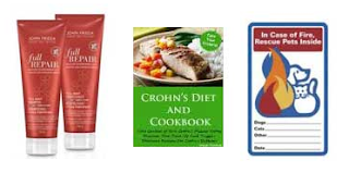 Free John Freida, Cookbook, Pet and More