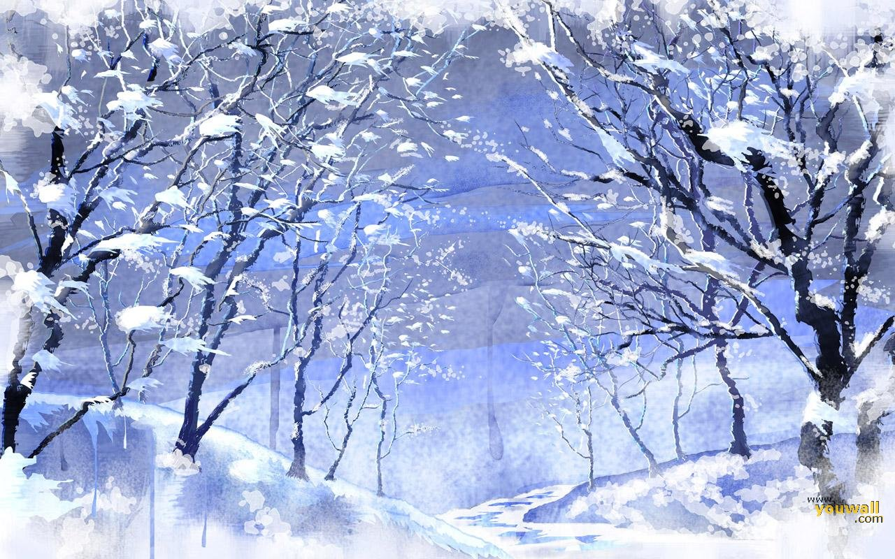 Beautiful wallpapers snowfall wallpaper Beautiful snowfall pictures