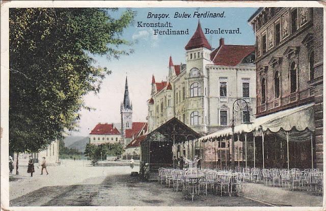Bulevardul Ferdinand din Brasovul vechi