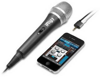 iRig Mic handheld microphone for iPhone announced by IK Multimedia