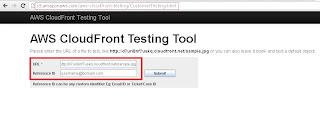 Amazon aws cloudfront testing tool