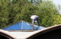 Salida Window Cleaning washing skylights