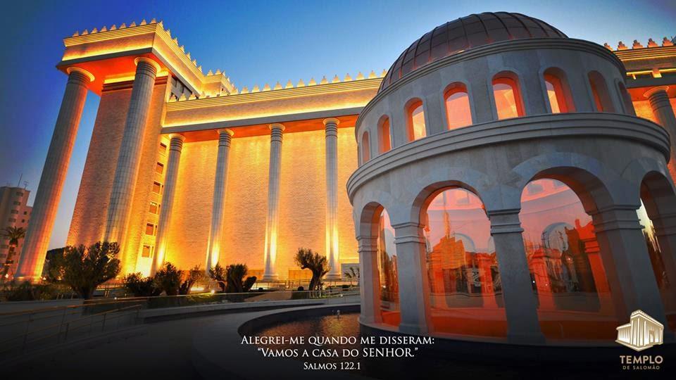 fotos do jardim do templo de salomao:Templo de Salomão de portas abertas ao grande público, caravana