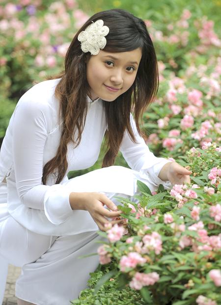 Album hình ảnh đẹp: Áo dài nữ sinh Việt Nam đẹp nhất