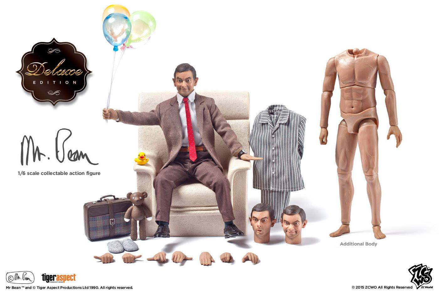 Toyhaven Incoming Zcwo 1 6 Scale Rowan Atkinson As Mr