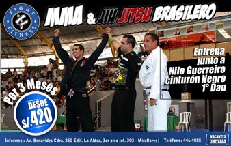 Entrena Jiu Jitsu Brasilero en Miraflores!