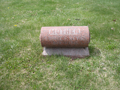 Fredericka Louise Thiel Revie Saint Peter's Cemetery Wausau Wisconsin
