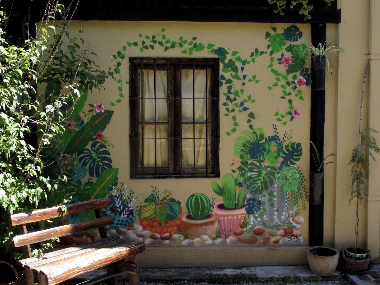 Mural Al Aire Libre Una Galeria En Benavidez Las Vidalas