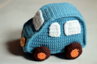 free crochet pattern amigurumi toy car