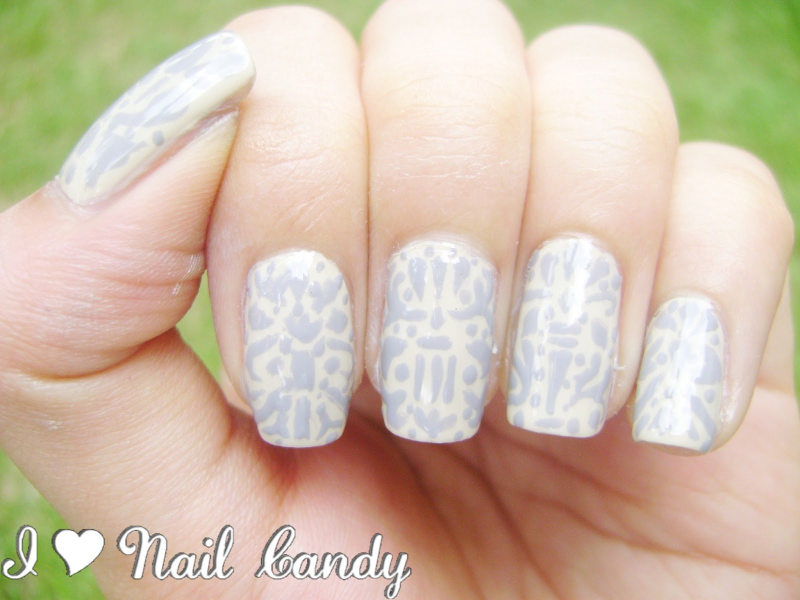 I Love Nail Candy The 31 Day Nail Challenge Day 15 Delicate Print