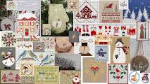 Много схем для вышивки в блоге AliceKiss