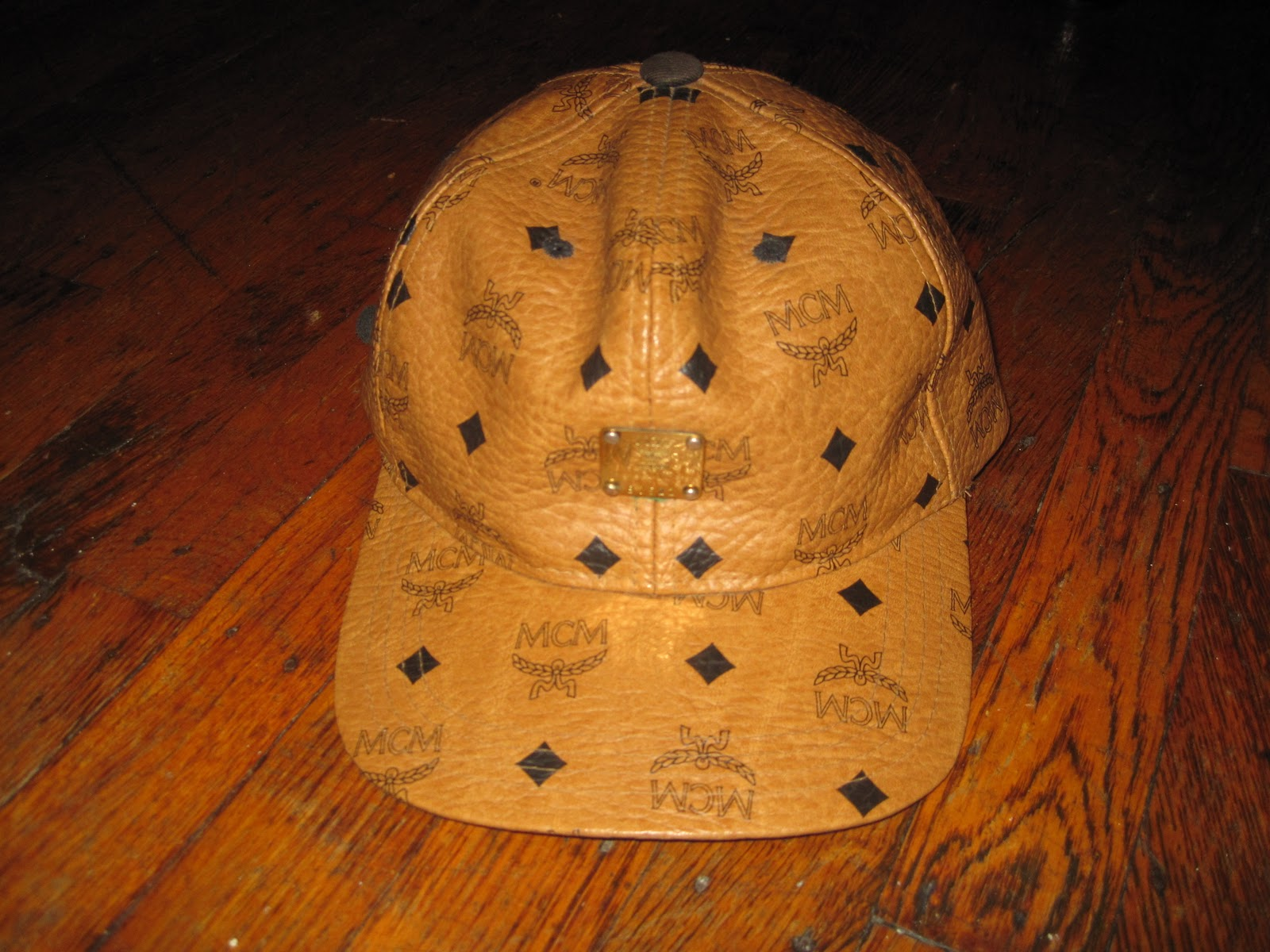 ... spain mcm hats aaaleather 001 mcm very rare hat a9644 7cf3a 55a539ba30c8