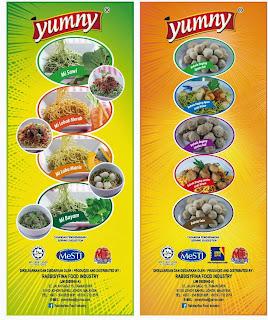 Vege Mee & Bebola Daging/Ayam
