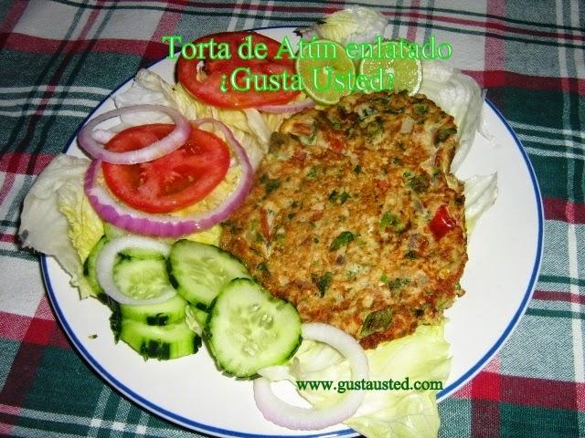Gusta usted qu cocinar con at n enlatado torta de for Cocinar con 40 pesos
