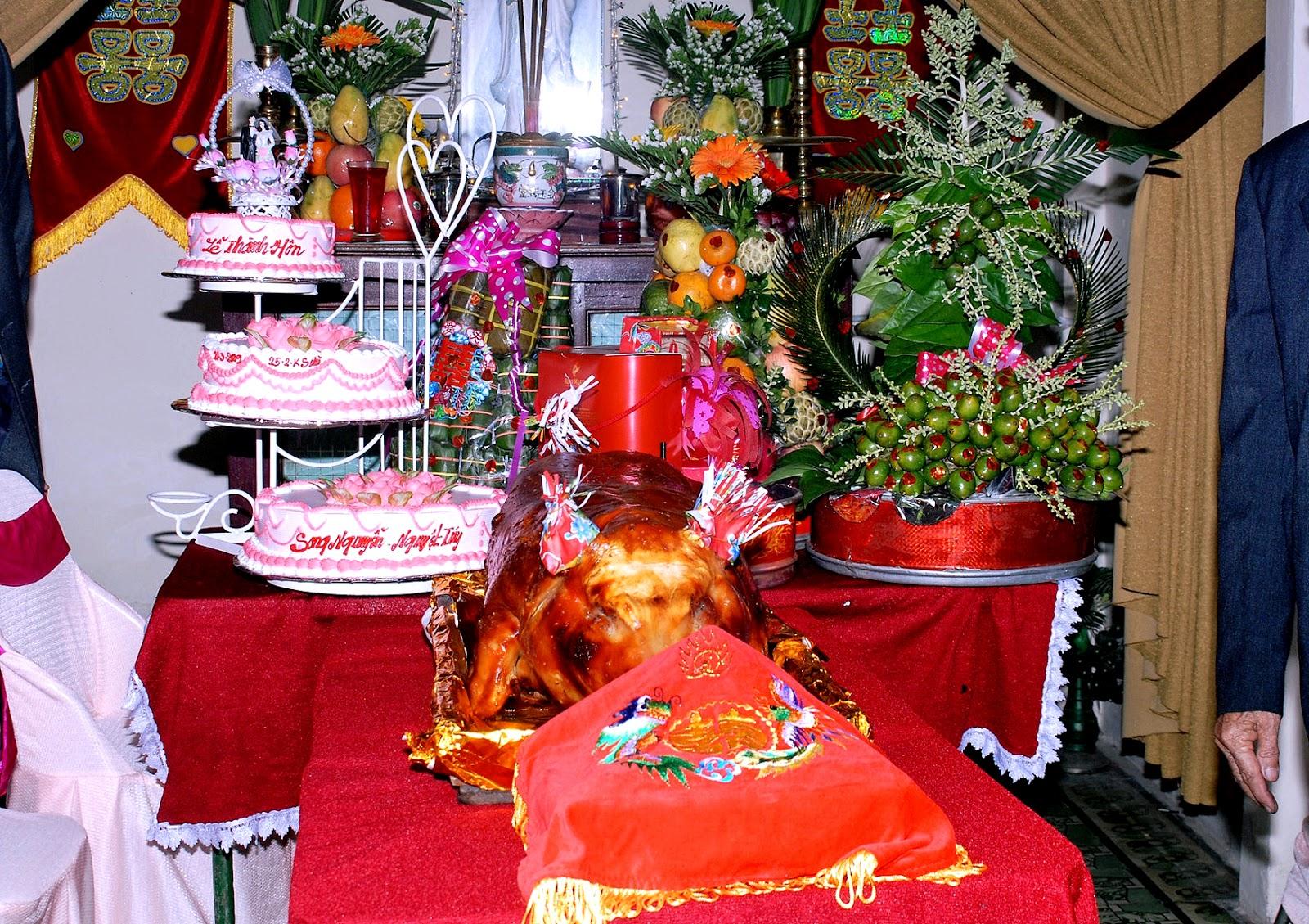 Trình tự của các nghi thức cưới truyền thống 1