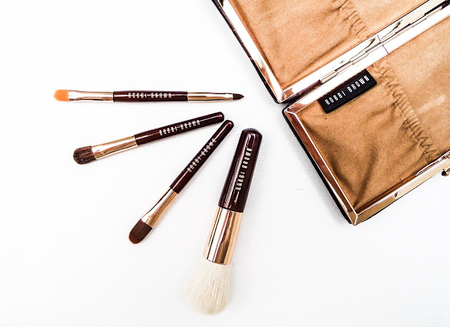 The Bobbi Brown Mini Brush set