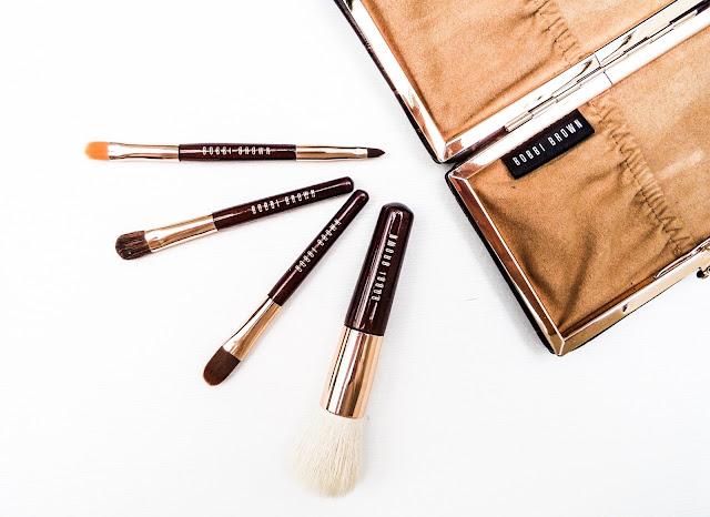 The Bobbi Brown Mini Brush set