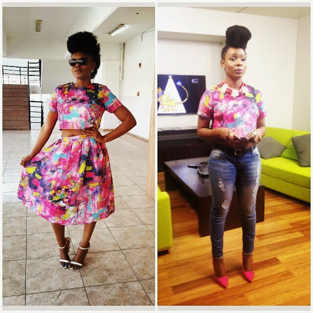 Which Of These Looks Do You Prefer On Yemi Alade Nigerian Breaking News In Nigeria Laila