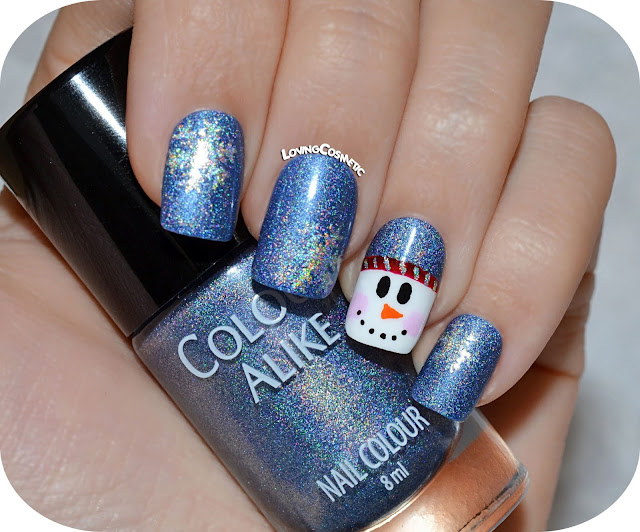 Nail Art - Muñeco de Nieve - Whatsupnails