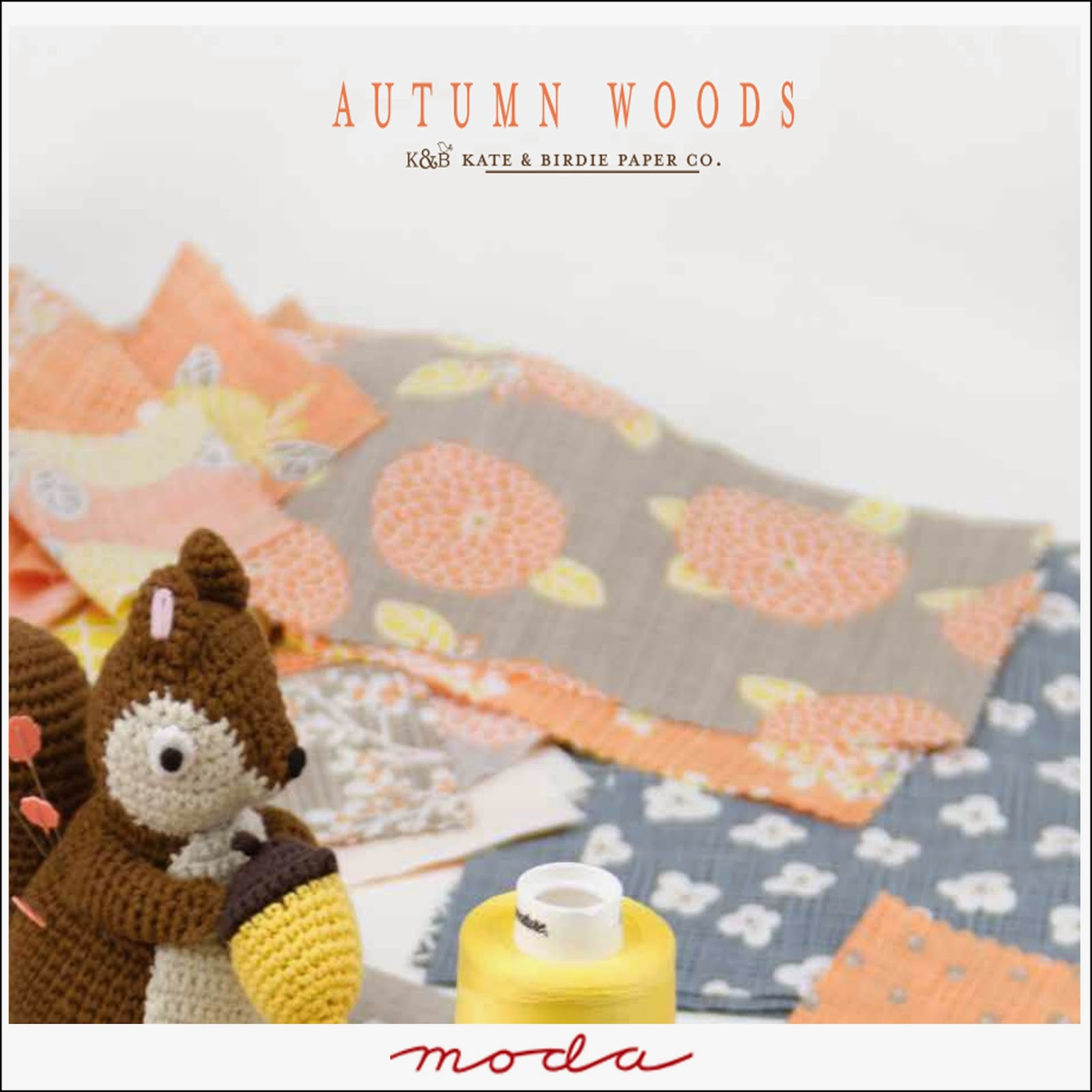 Moda AUTUMN WOODS Quilt Fabric by Kate & Birdie for Moda Fabrics