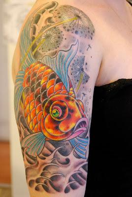 Tattoo Dandelions
