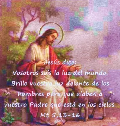 Evangelio San Mateo 5, 13-16