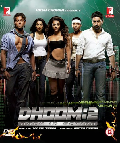 Dhoom 2 (2006) Movie Poster