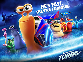 DreamWorks Turbo 3d Movie Poster HD  Wallpaper