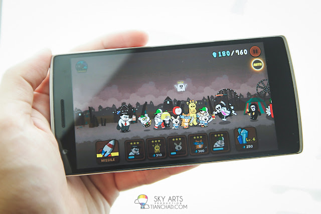 Smooth Gaming Experience on OnePlus One - LINE Rangers