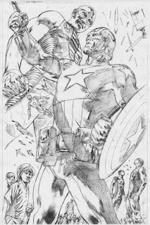 Bryan Hitch ultimates pencils