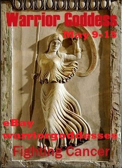 Warrior Goddess Cancer Charity Auction May 9-15
