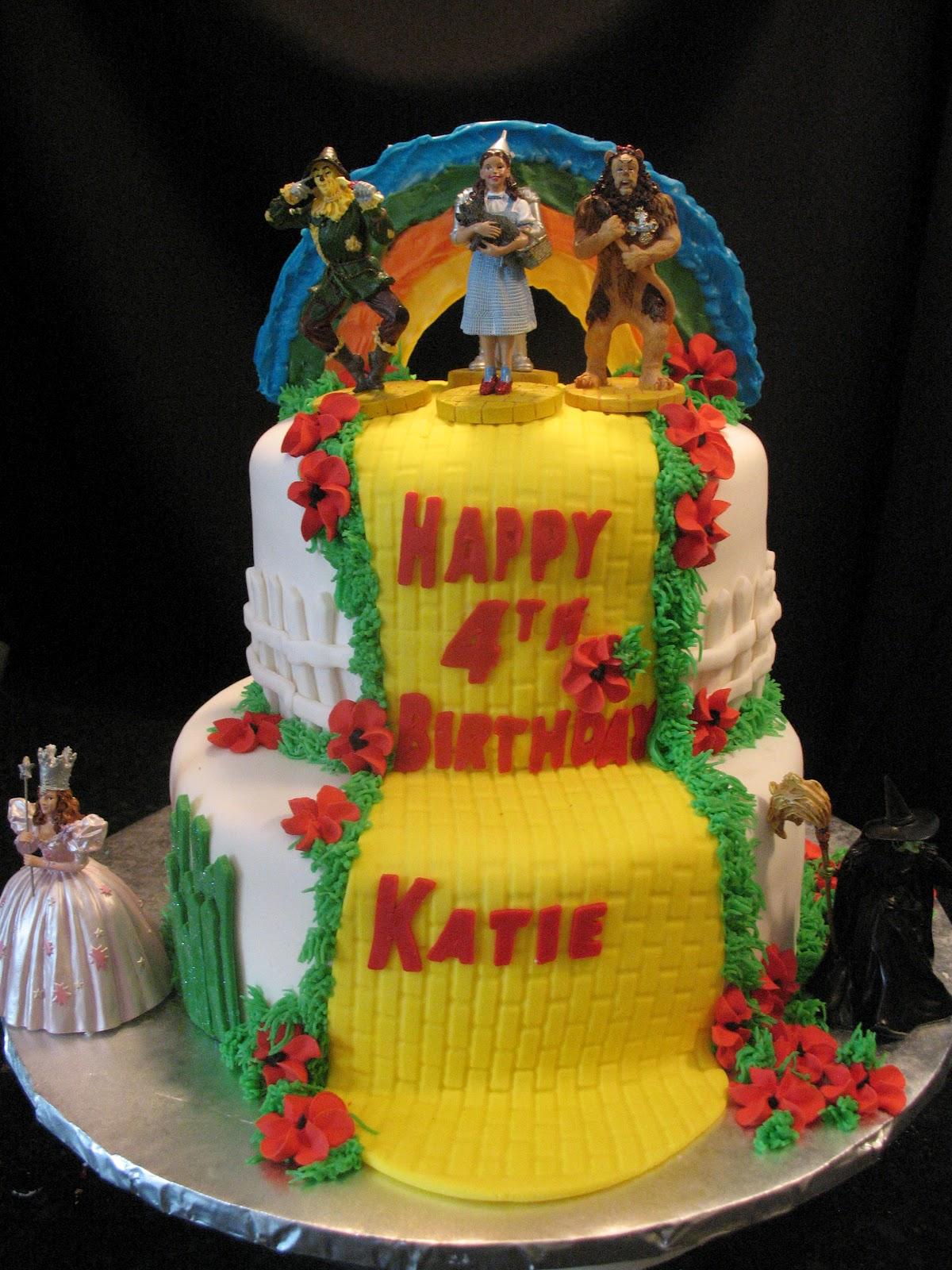Cakes By Mary Ann: Wizard of OZ birthday cake