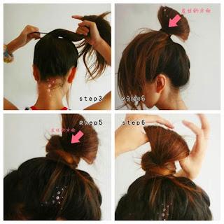 Cara Mengikat rambut Cute