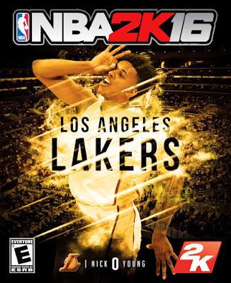 NBA 2K16 Custom Covers - Los Angeles Lakers