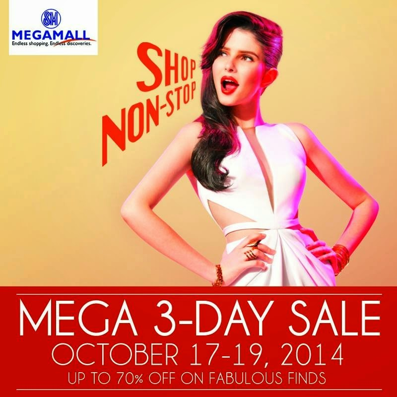 SM STORE: MEGAMAL 3-DAYS SALE OCTOBER 2014