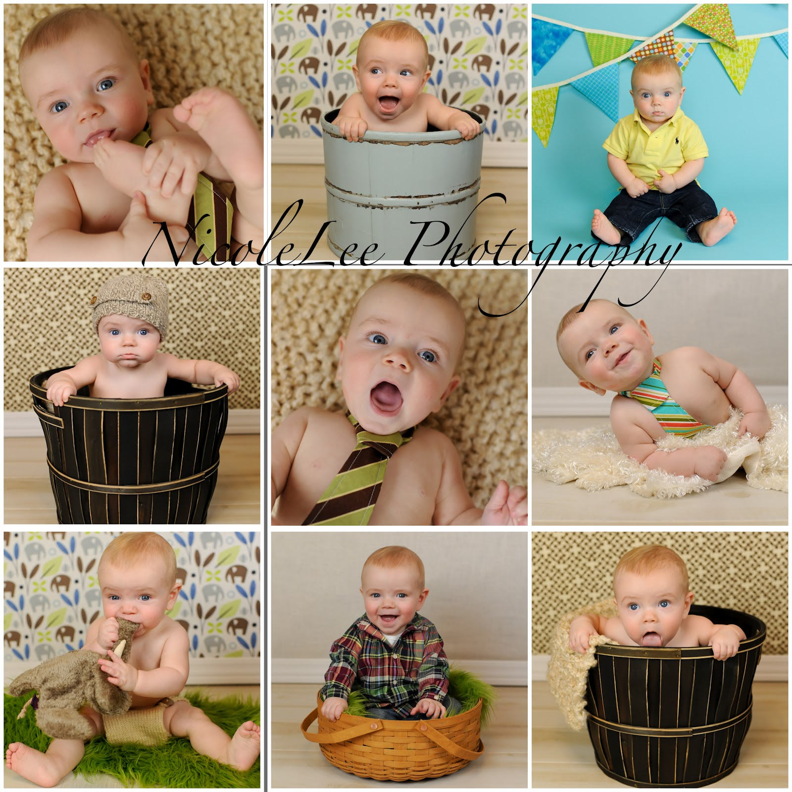 22 best images about Logans 6 month picture ideas on
