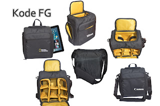 Tas Kamera Replika National Geographic Model Selempang