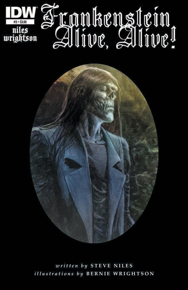 Frankenstein Alive, Alive # 3 - Steve Niles Bernie Wrightson