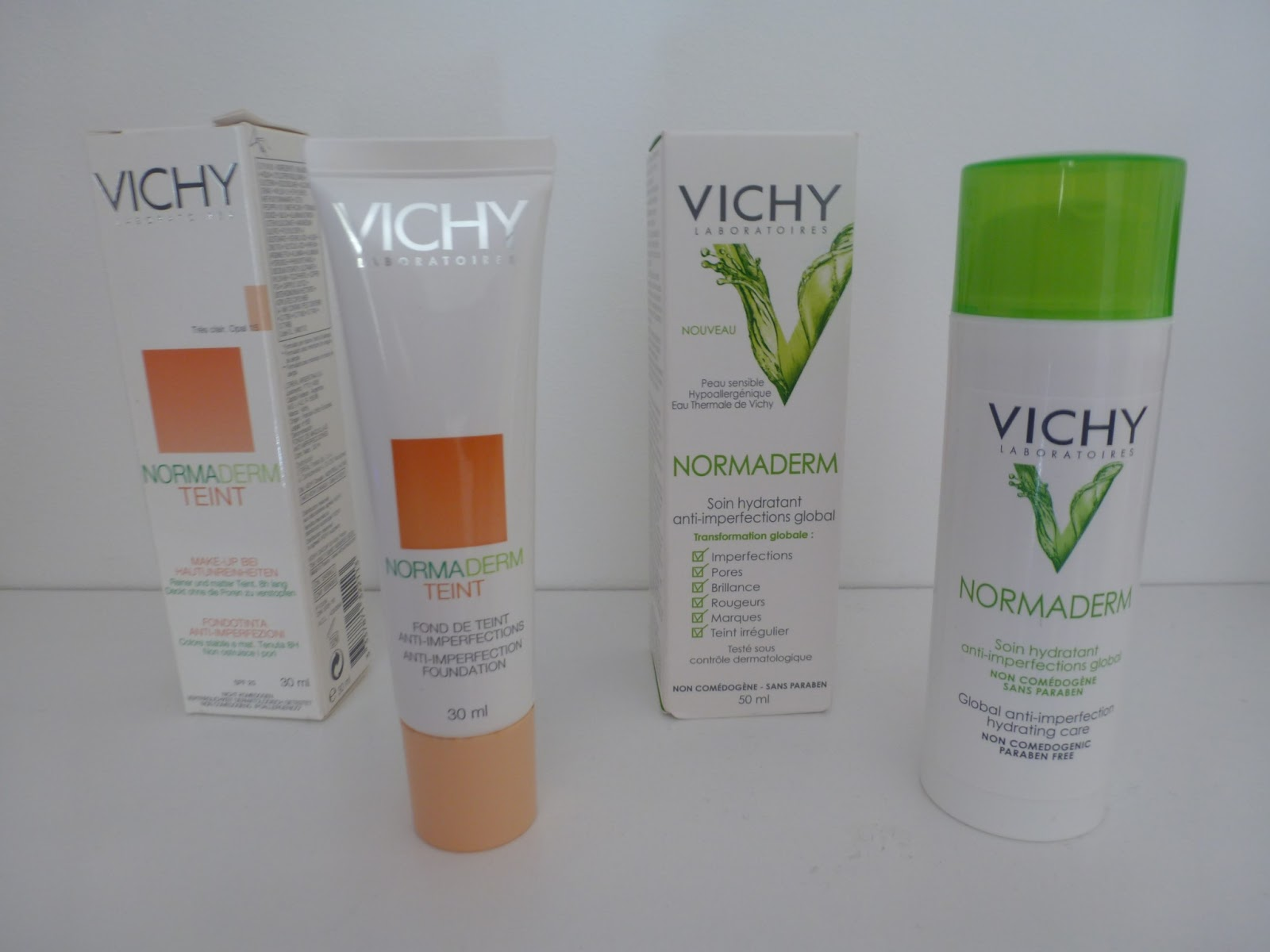 mfashionbeauty blog beaut revue les produits normaderm de vichy. Black Bedroom Furniture Sets. Home Design Ideas