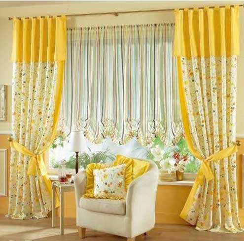 Home Wall Decoration: Home curtain design 2012.