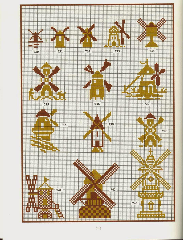 Символы и приметы в вышивке крестом - Мегавышивка 43
