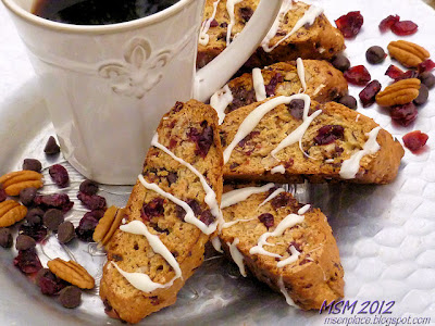 Trail Mix Biscotti